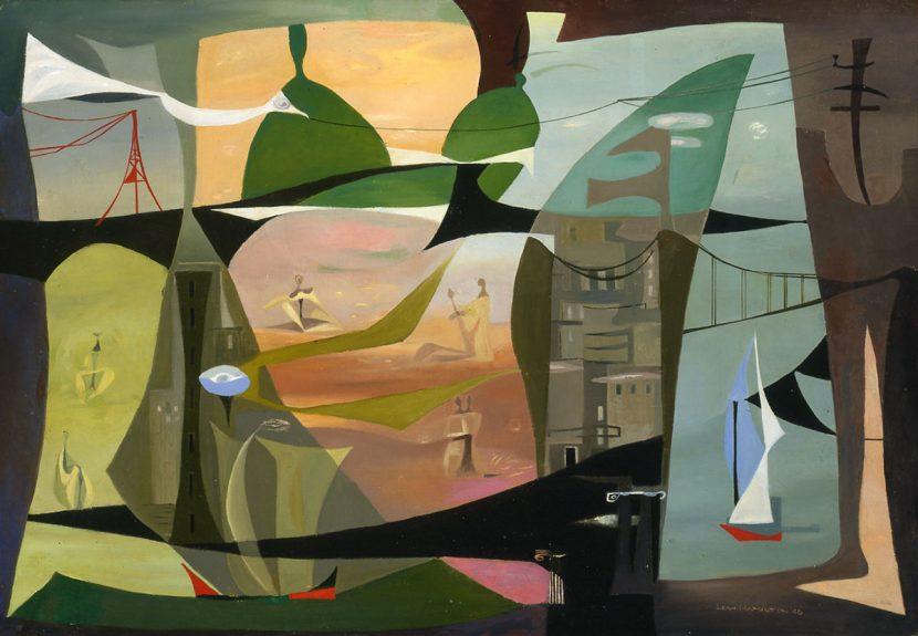 Leah Rinne Hamilton - San Francisco Abstraction