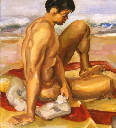 Robert Kennicott – Bather