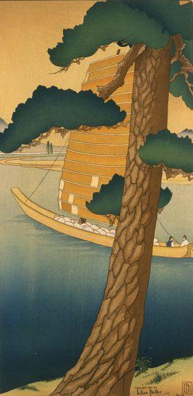 Lilian May Miller - Orange Sailed Junk of the Han