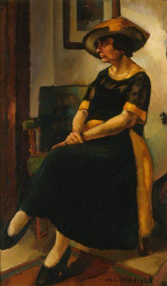 Otis Oldfield - Woman in Black