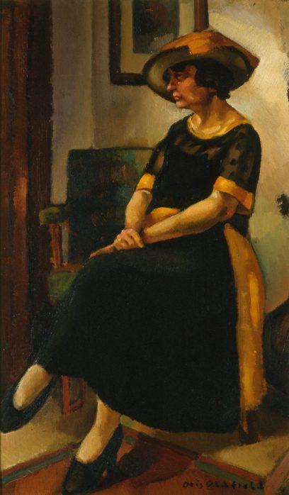 Otis Oldfield – Woman in Black