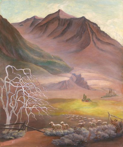 Marion Randall Parsons – Untitled (Sheep in the Valley)