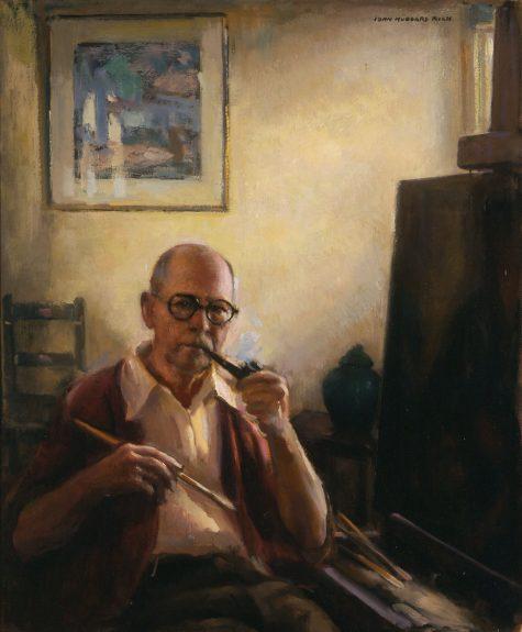 John Hubbard Rich - Self-Portrait