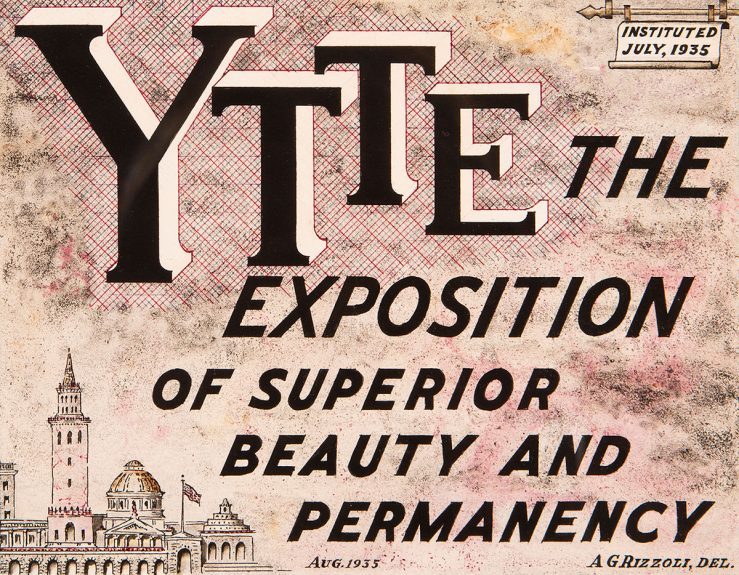 A. G. Rizzoli - Y. T. T. E. The Exposition of Superior Beauty and Permanency