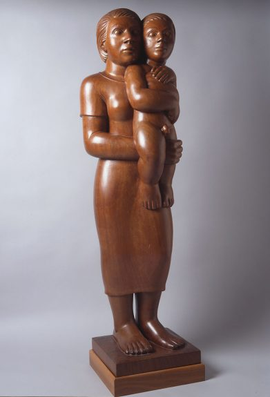 Brents Carlton - Mother and Child - Mahogany 1934