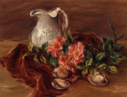 Sueo Serisawa – Still Life With Pitcher
