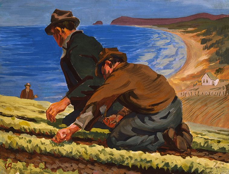 Victor Arnautoff - The Lettuce Pickers