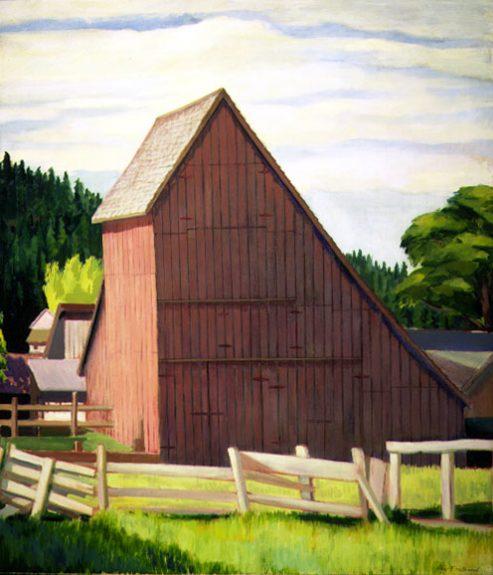 Raymond Bertrand - Old Barn