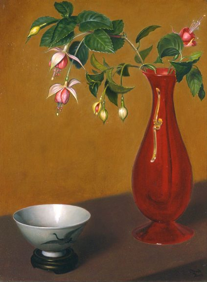 Claude Buck - Fuchsia and Bowl