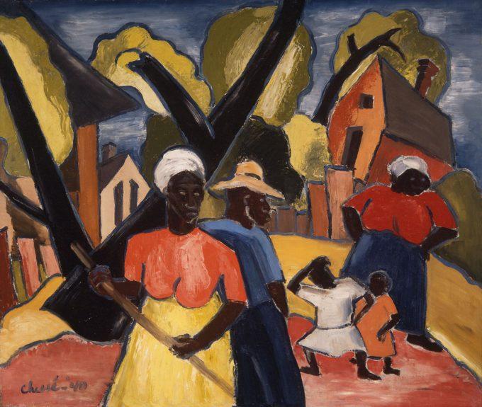 Ralph Chessé - Black Family, New Orleans