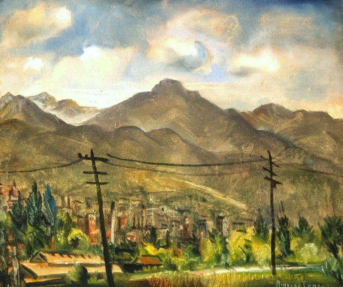 Rinaldo Cuneo - Town and Hills, Utah