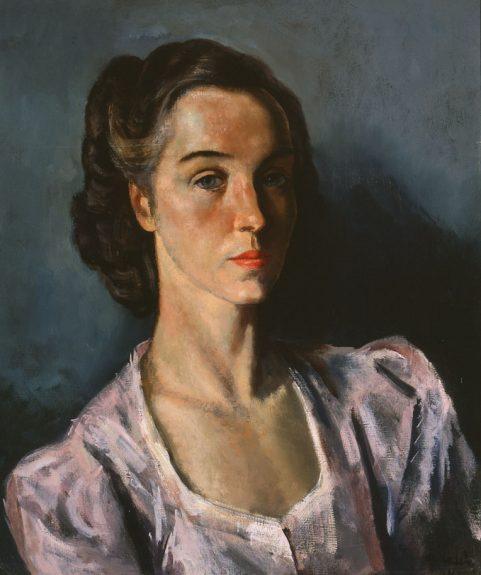 Francis de Erdely - Portrait of a Woman
