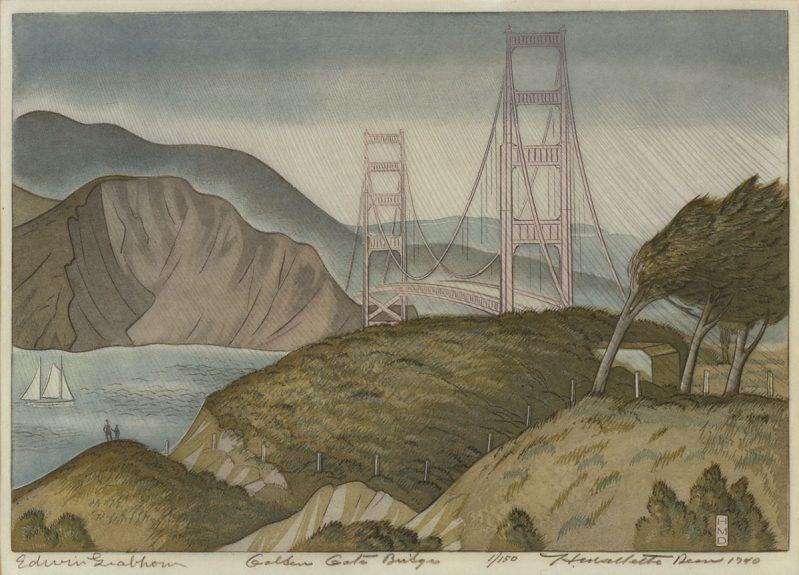 Harold Mallette Dean - Golden Gate Bridge