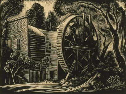 Harold Mallette Dean – Old Bale Mill
