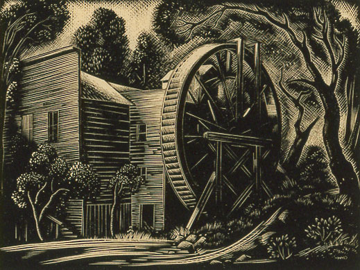 Harold Mallette Dean - Old Bale Mill