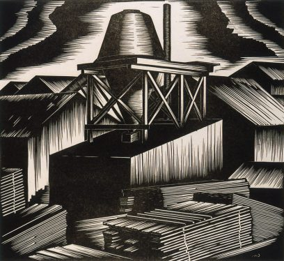 Harold Mallette Dean – Untitled (Wood Mill)