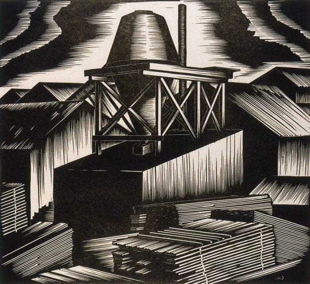 Harold Mallette Dean - Untitled (Wood Mill)