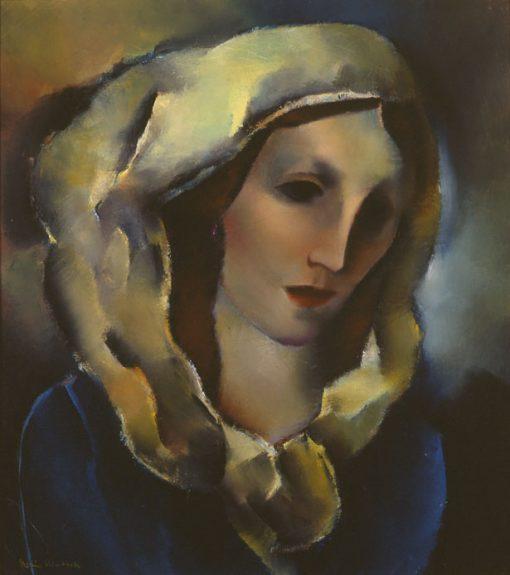 Boris Deutsch - Girl With Yellow Shawl