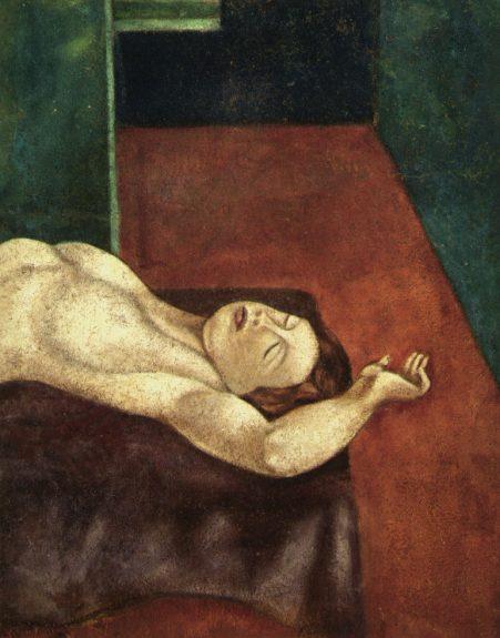Lorser Feitelson - Reclining Nude