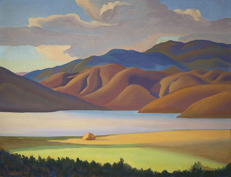 Oscar Galgiani - Topaz Lake, Late Afternoon