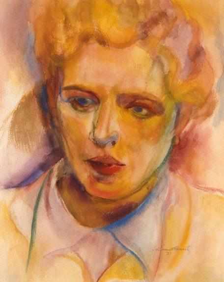 John Emmett Gerrity - Portrait of a Woman