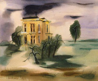 Leah Rinne Hamilton – Lone Victorian House