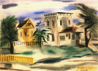 Leah Rinne Hamilton – Untitled (Victorian Houses, San Francisco)