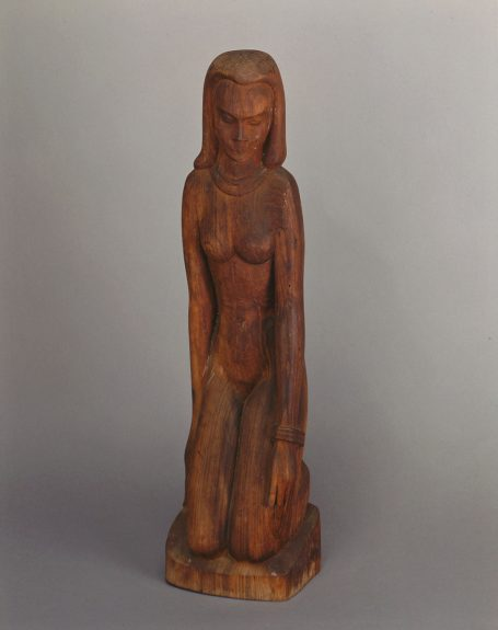 Emil Janel - Kneeling Woman