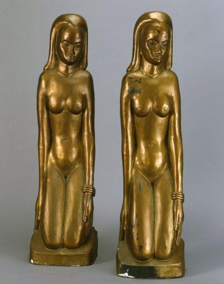 Emil Janel - Kneeling Women (pair)
