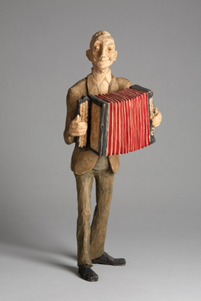 Emil Janel – Man with Accordion