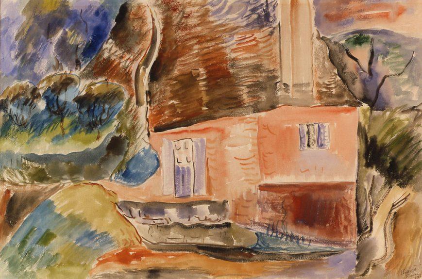 Peter Krasnow - Untitled (French Landscape No.1)