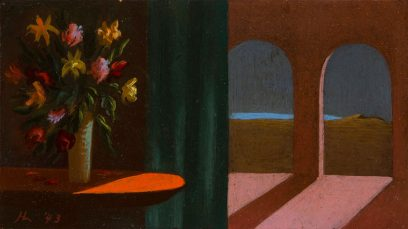 Helen Lundeberg – Flowers and Arches