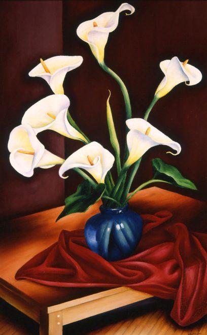 John Mottram – Calla Lilies