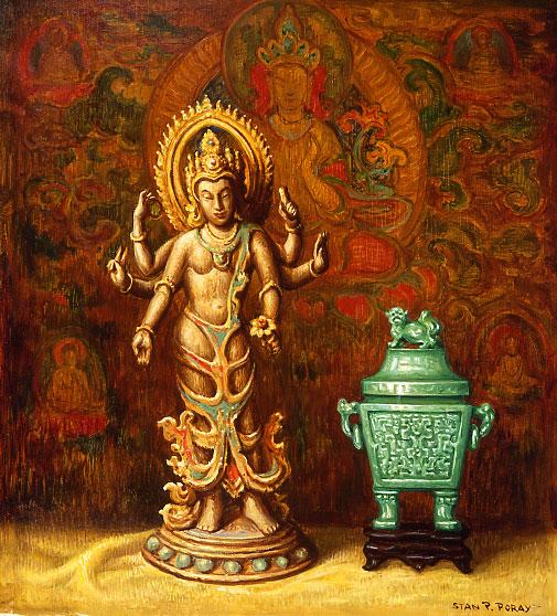 Stanislaus Poray - Goddess and Jade