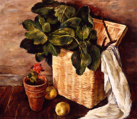 Sueo Serisawa - Yellow Basket