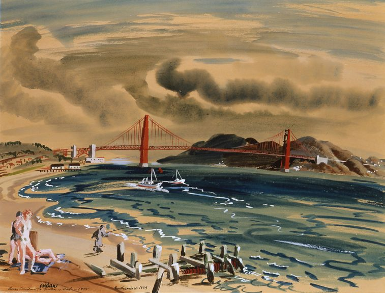 Frede Vidar - San Francisco 1939