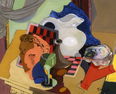 Stanton Macdonald Wright – Still Life With Abalone Shell