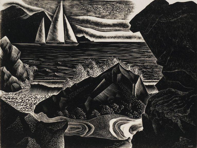 Harold Mallette Dean - Down the Coast