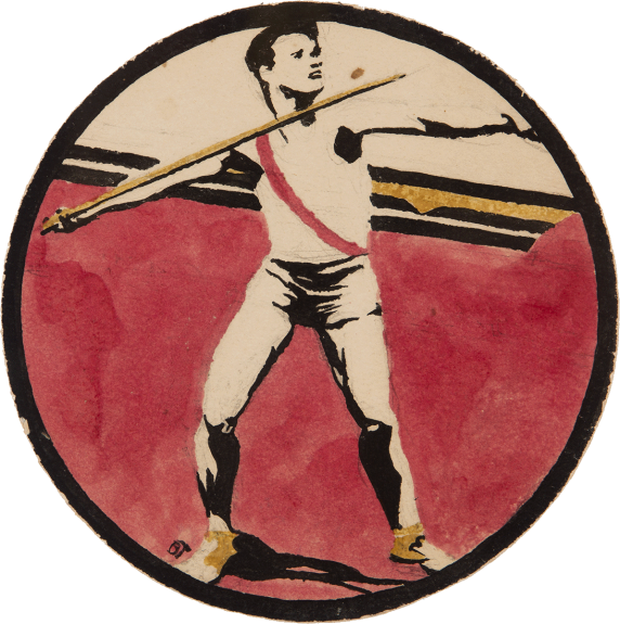 Barbara-Haddaway - Olympic Sport: The Javelin Throw