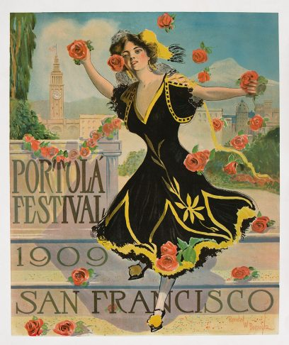 Randal W. Borough – Portola Festival – 1909 – San Francisco