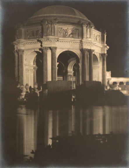 Francis Joseph Bruguière - The Rotunda (The Palace of Fine Arts, San Francisco)
