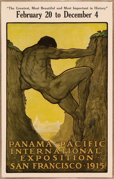 Perham Wilhelm Nahl - The Thirteenth Labor of Hercules: Official Poster for the Panama-Pacific International Exposition
