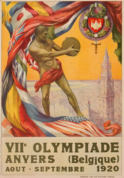 Walter Van der Ven – VII Olympiade Anvers (Belgique) Aout – September 1920