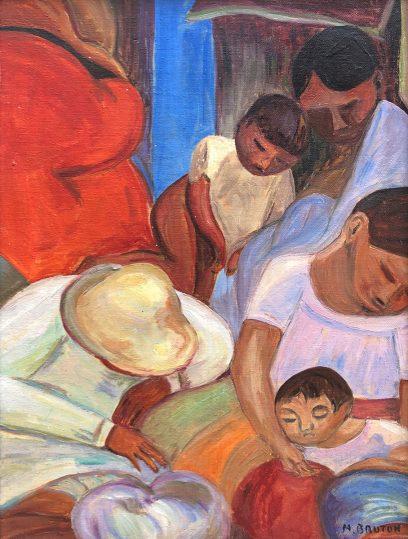 Margaret Bruton – Immigrants Resting