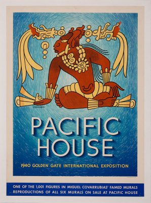 Miguel Covarrubias - Pacific House – 1940 Golden Gate International Exposition