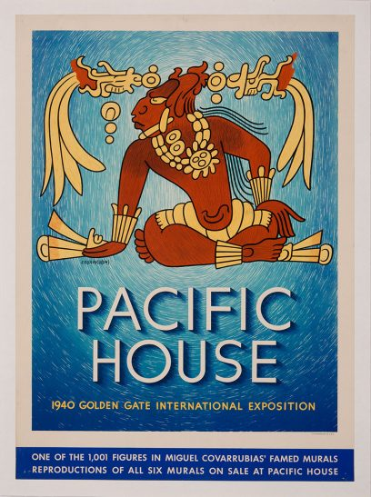 Miguel Covarrubias – Pacific House – 1940 Golden Gate International Exposition