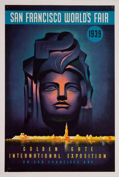 Simon Vanderlaan - San Francisco World's Fair, 1939