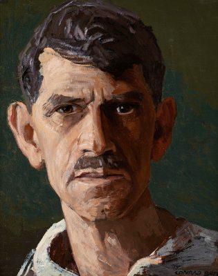 Conrad Buff - Self Portrait - 2