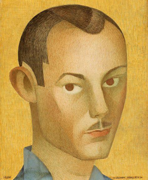John Haley - Self Portrait