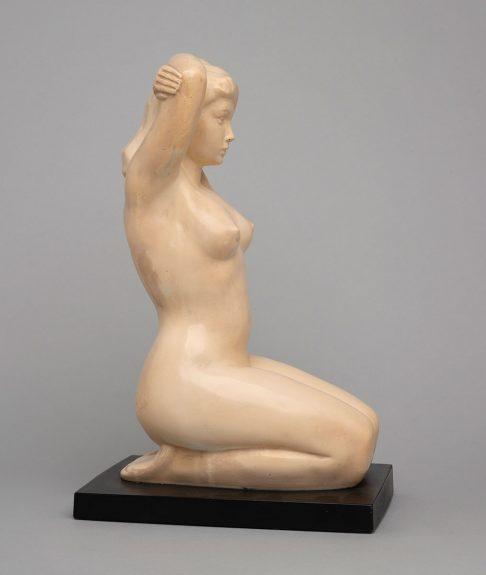 Bruno Mankowski - Kneeling Woman